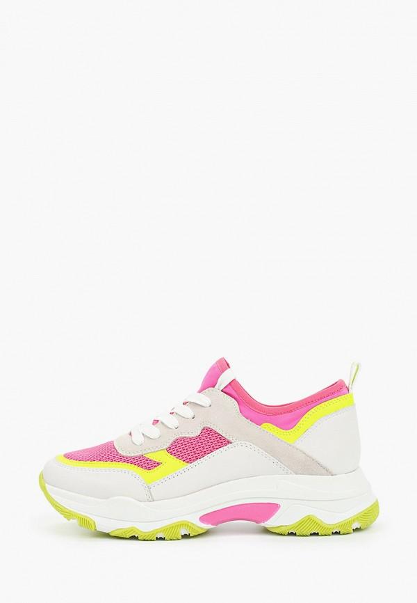 женские кроссовки marco tozzi, разноцветные