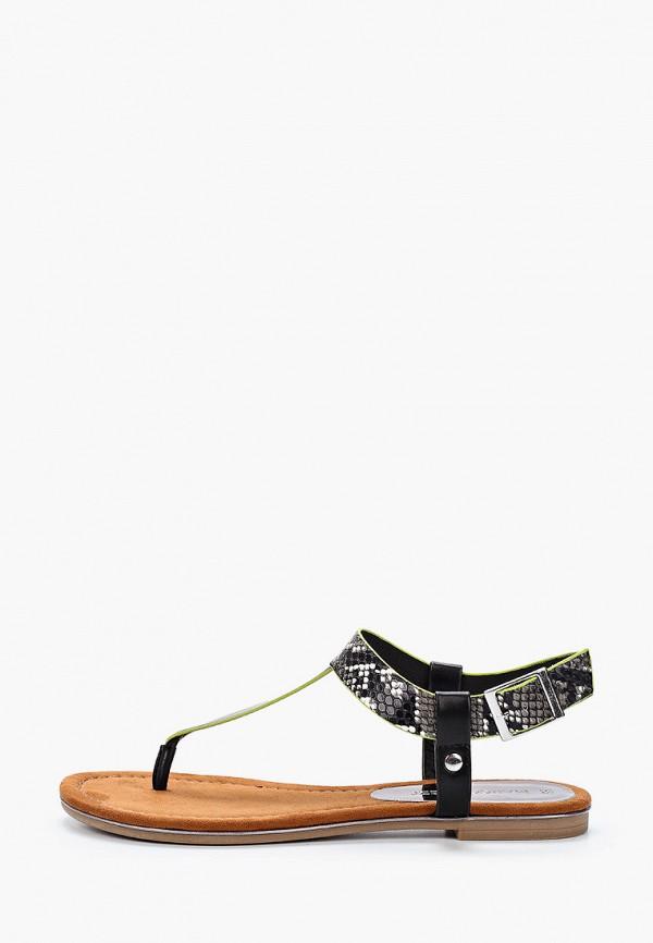 женские сандалии marco tozzi, черные