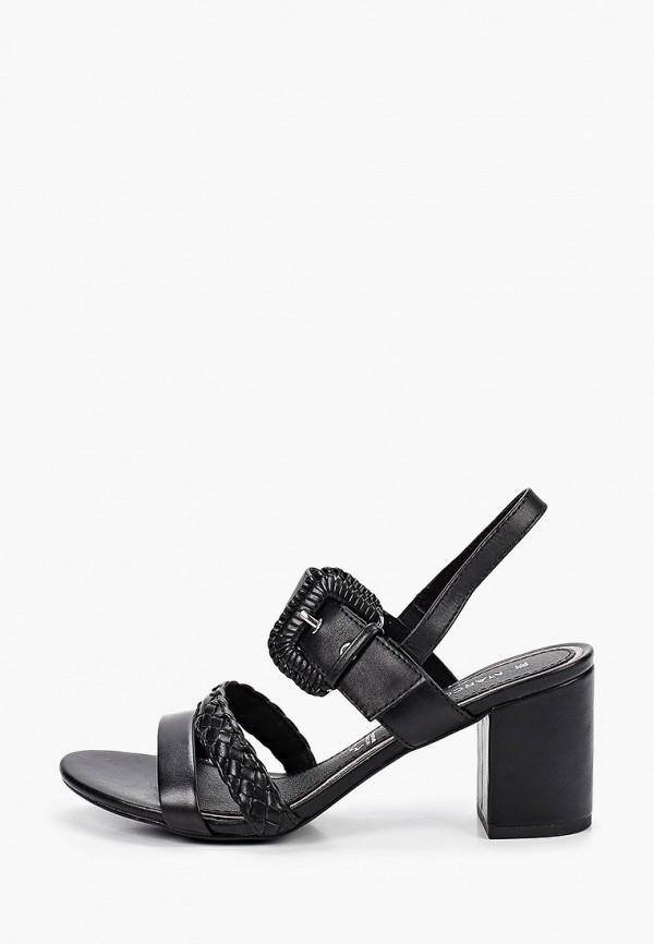 женские босоножки marco tozzi, черные