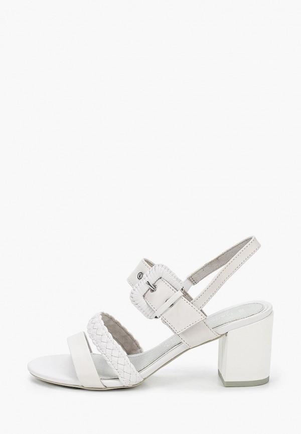 женские босоножки marco tozzi, белые