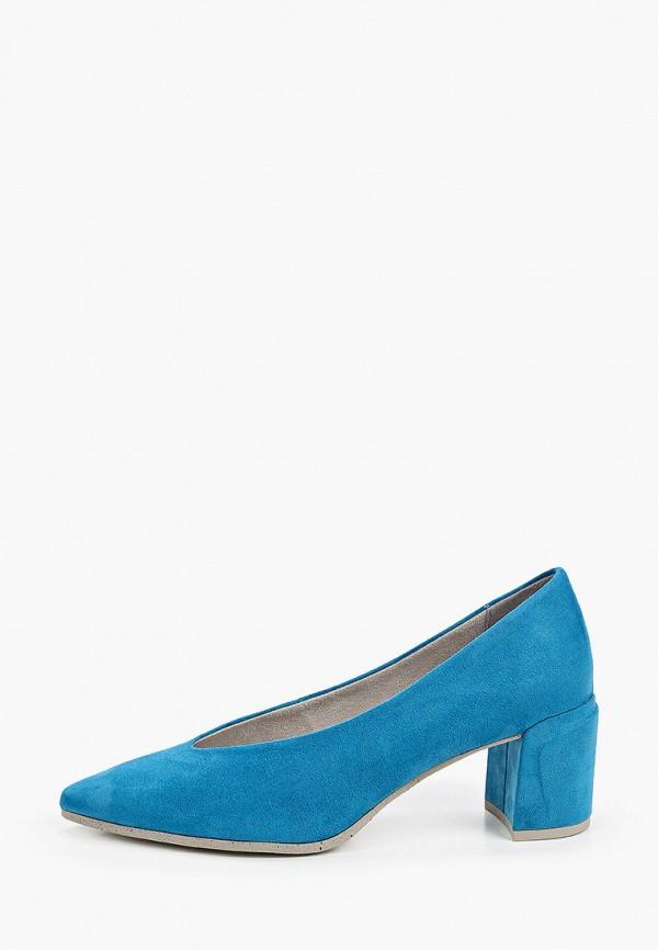 женские туфли marco tozzi, синие