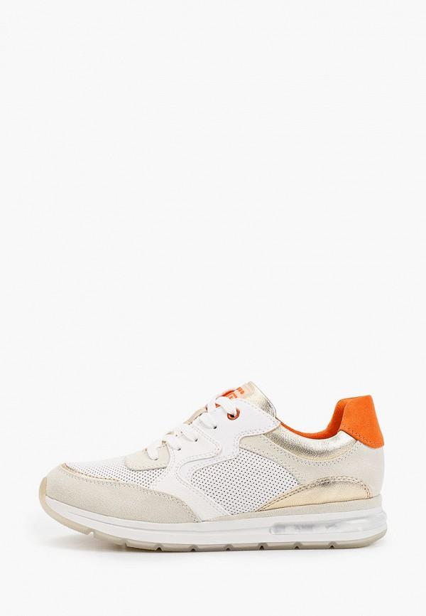 женские кроссовки marco tozzi, белые