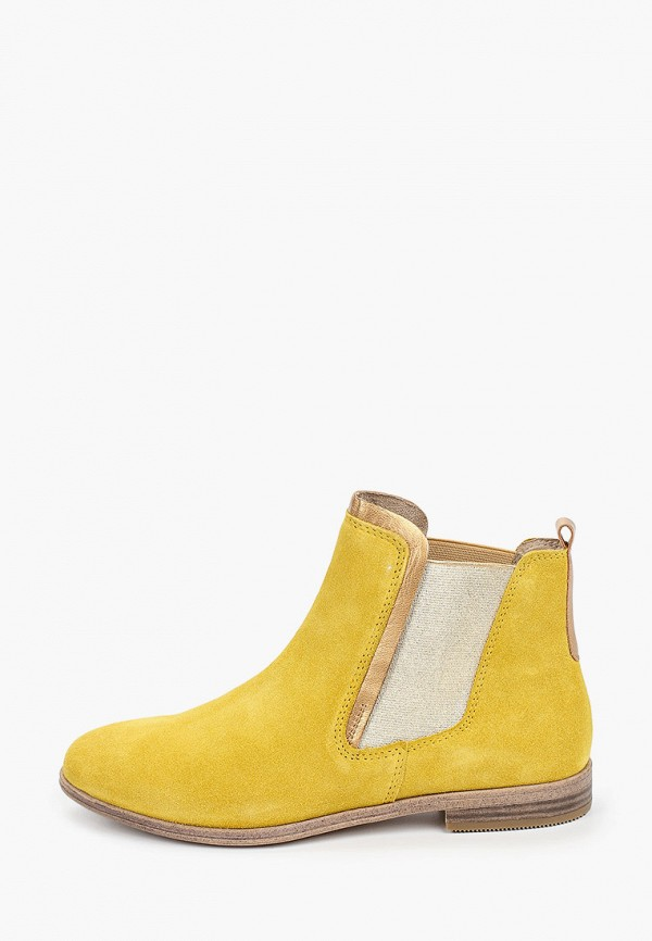 женские ботинки marco tozzi, желтые