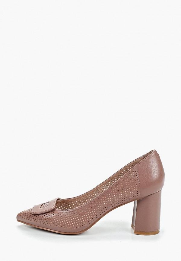 женские туфли marie collet, коричневые