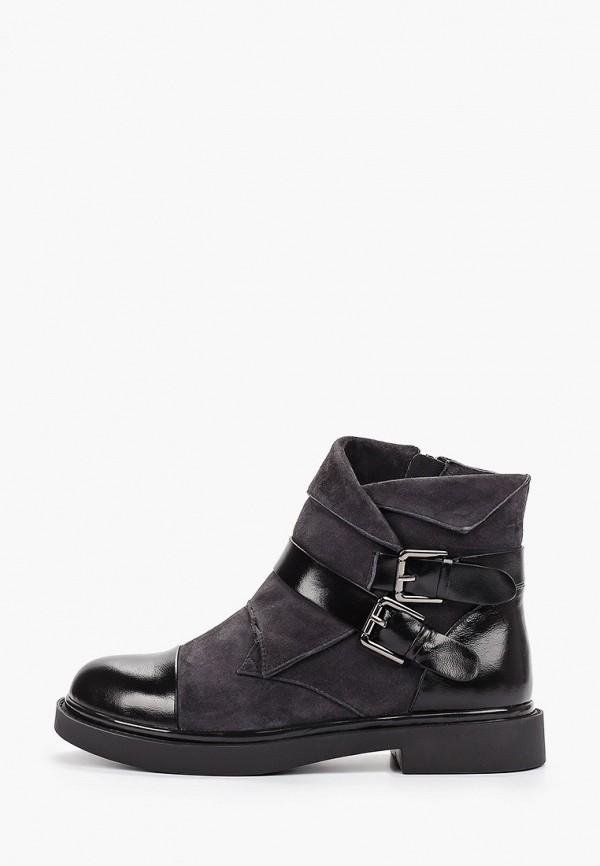 женские высокие ботинки marie collet, серые
