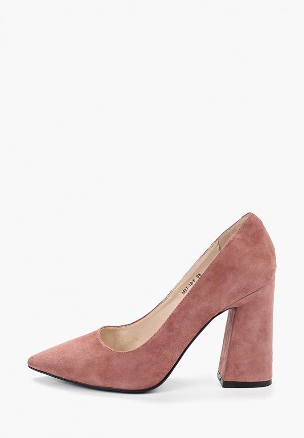 женские туфли marie collet, розовые