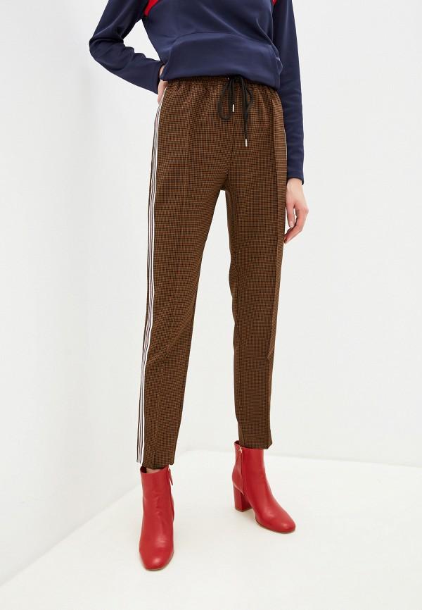 женские брюки markus lupfer, коричневые