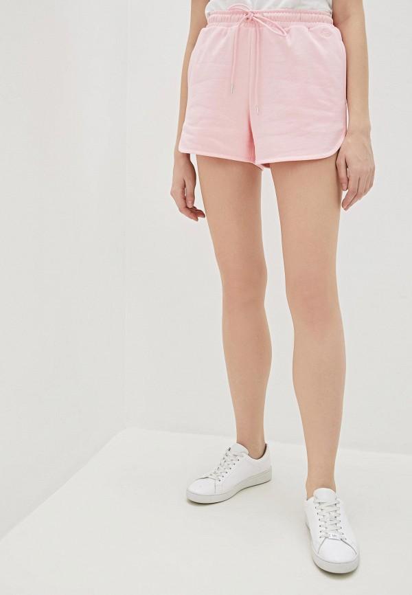 женские спортивные шорты markus lupfer, розовые