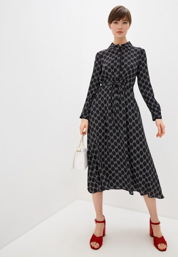 женское платье markus lupfer, черное