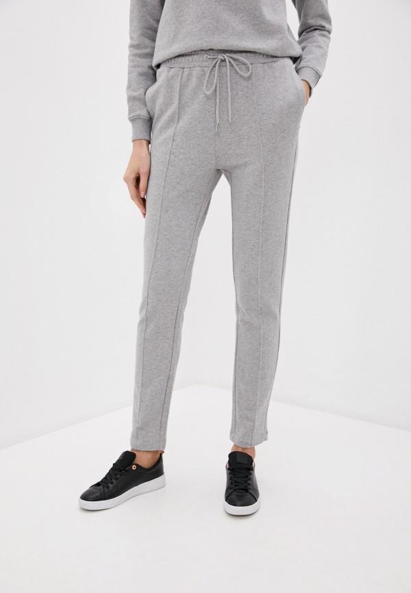 женские повседневные брюки markus lupfer, серые