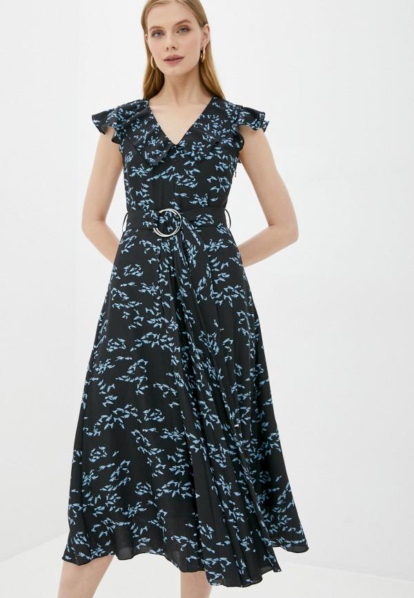 женское повседневные платье markus lupfer, черное