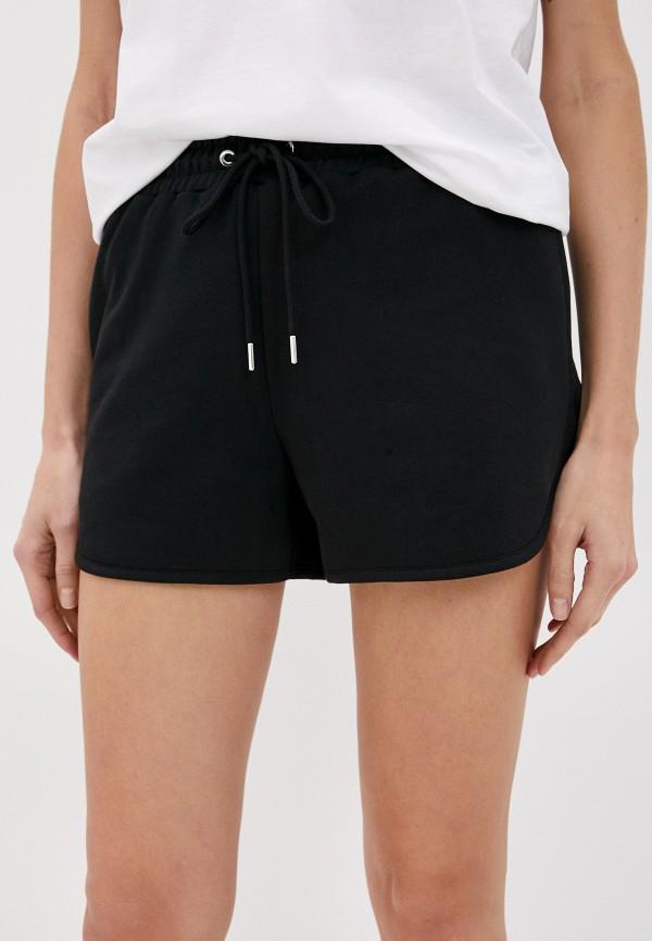 женские повседневные шорты markus lupfer, черные
