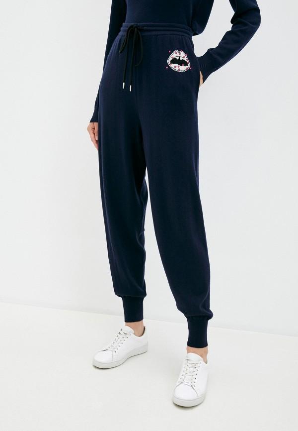 женские брюки markus lupfer, синие