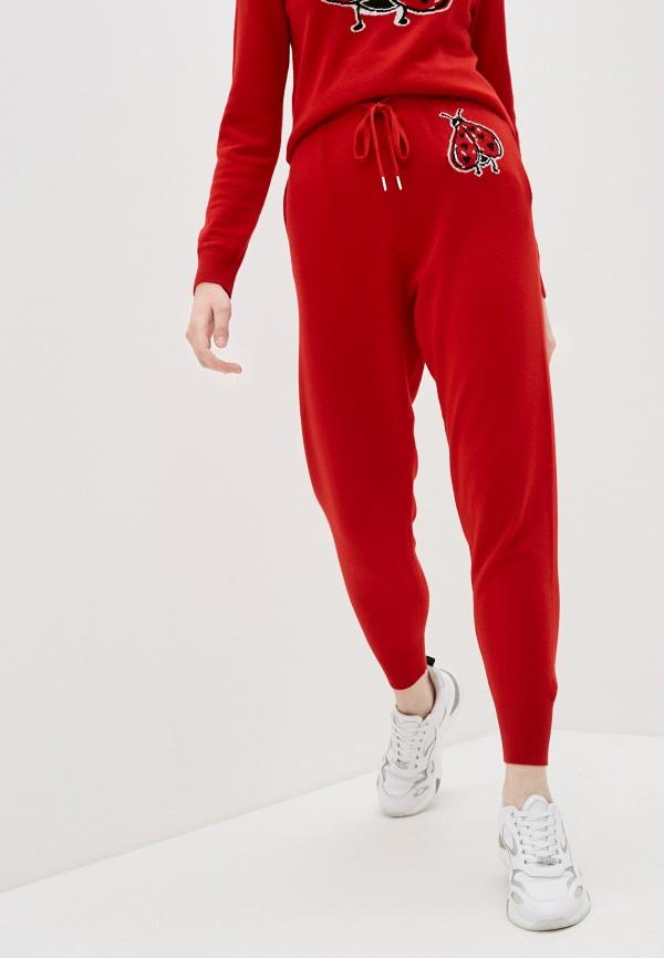 женские брюки markus lupfer, красные