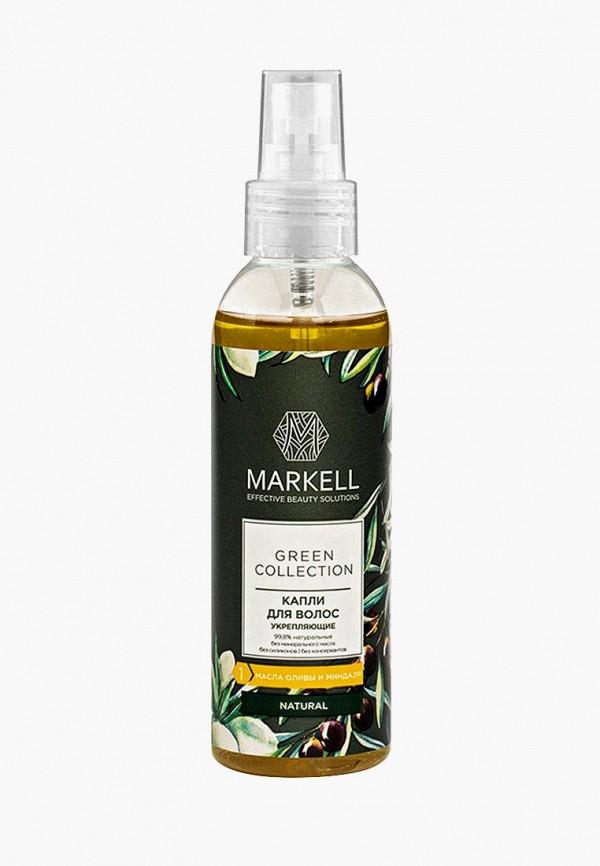 Купить Масло для волос Markell, УКРЕПЛЯЮЩЕЕ, 100 МЛ, ma155lwfepb5, желтый, Весна-лето 2019