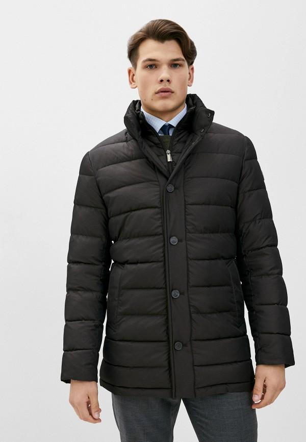 мужская куртка madzerini, коричневая
