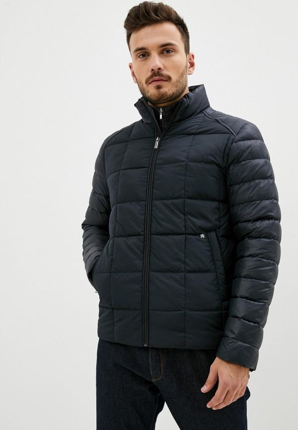 мужская куртка madzerini, черная
