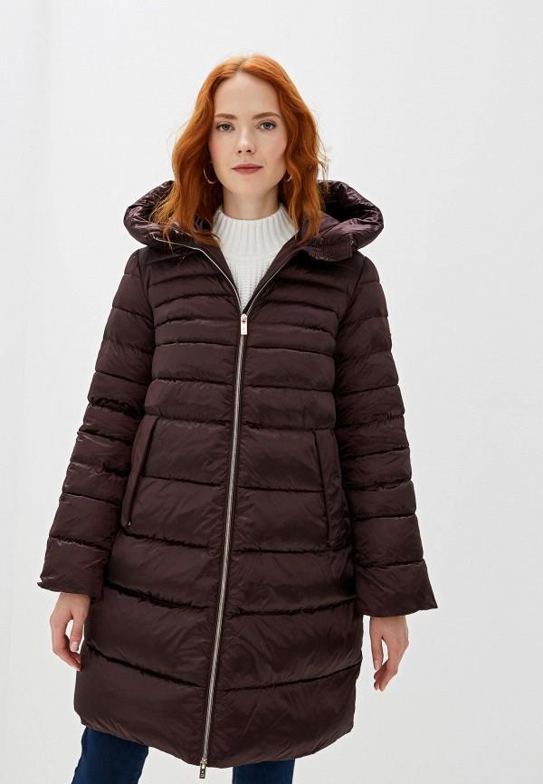 женская куртка madzerini, коричневая
