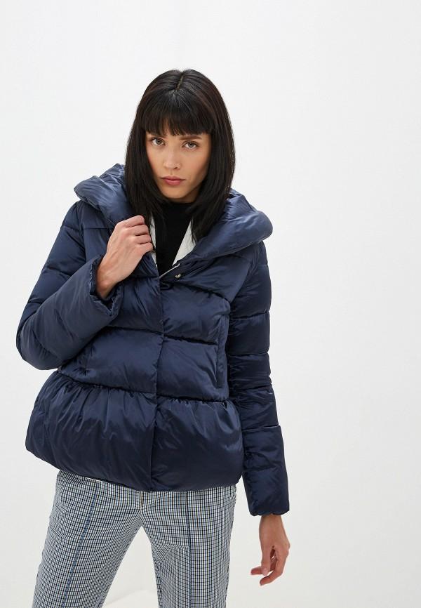 женская куртка madzerini, синяя
