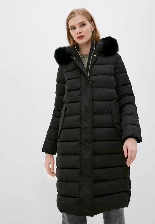 женская куртка madzerini, черная