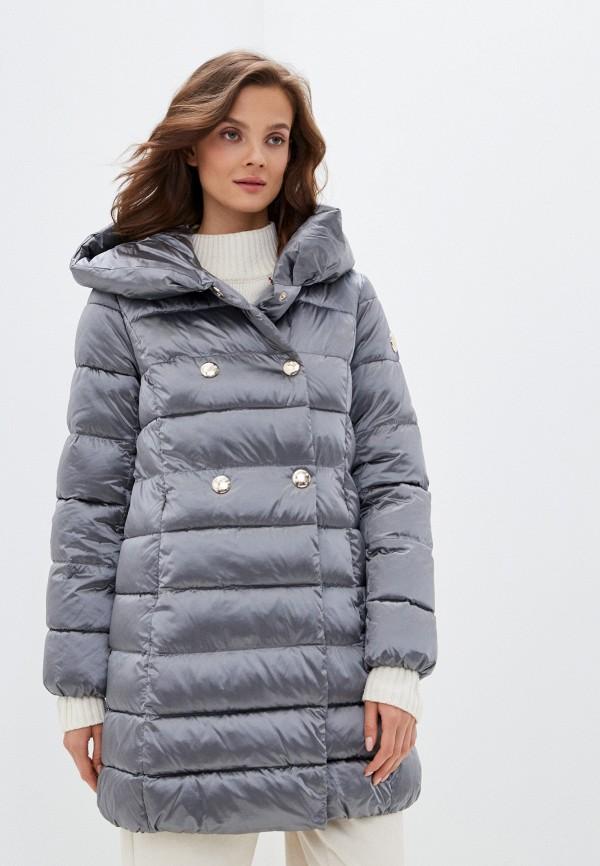 женская куртка madzerini, серая