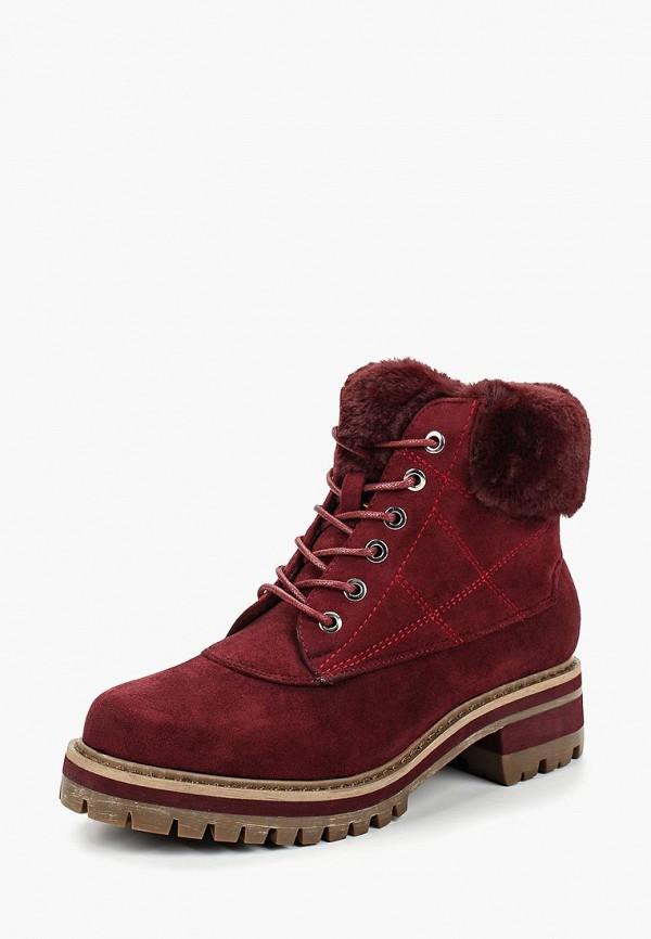 женские ботинки marquiiz, бордовые