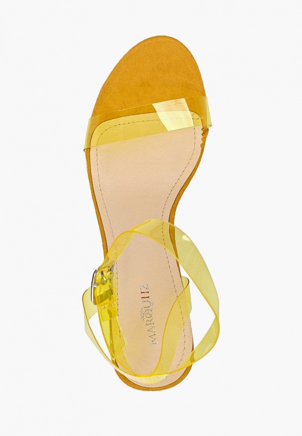 Фото 4 - женские босоножки Marquiiz желтого цвета