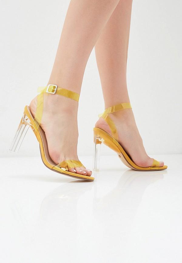 Фото 6 - женские босоножки Marquiiz желтого цвета