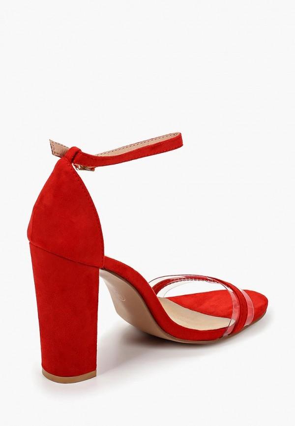 Фото 3 - женские босоножки Marquiiz красного цвета