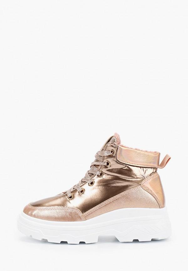 женские ботинки marquiiz, золотые