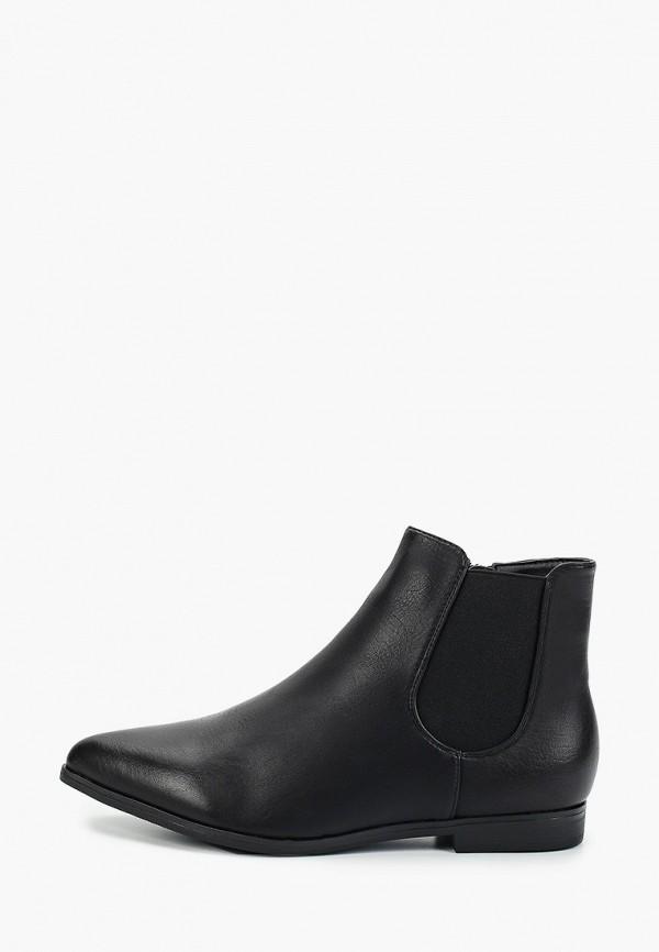 Фото - женские ботинки и полуботинки Marquiiz черного цвета