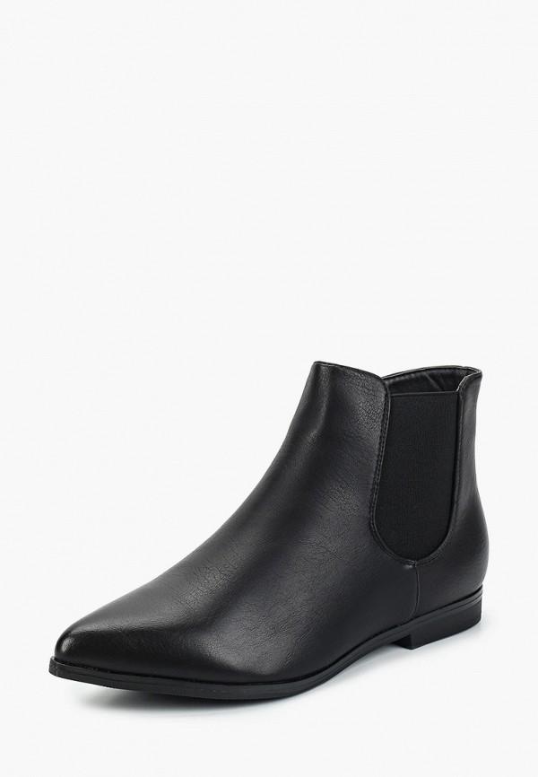 Фото 2 - женские ботинки и полуботинки Marquiiz черного цвета