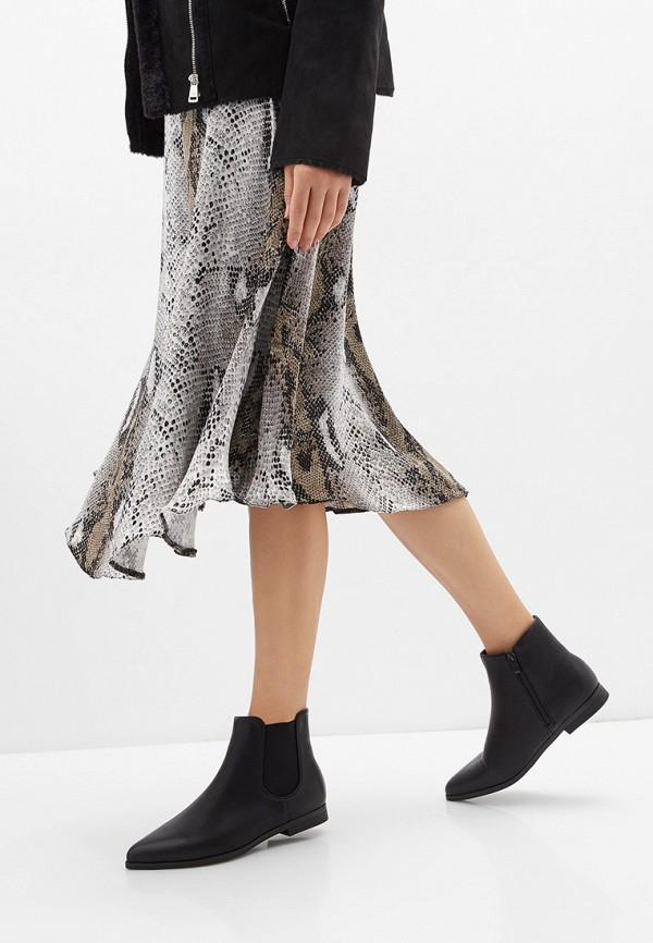 Фото 6 - женские ботинки и полуботинки Marquiiz черного цвета