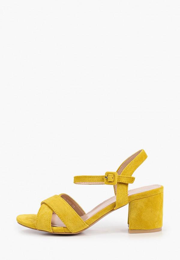 женские босоножки marquiiz, желтые