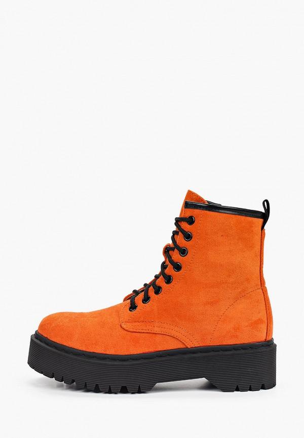 женские ботинки marquiiz, оранжевые