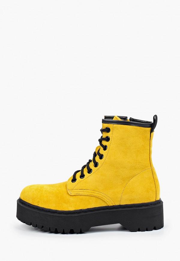 женские ботинки marquiiz, желтые
