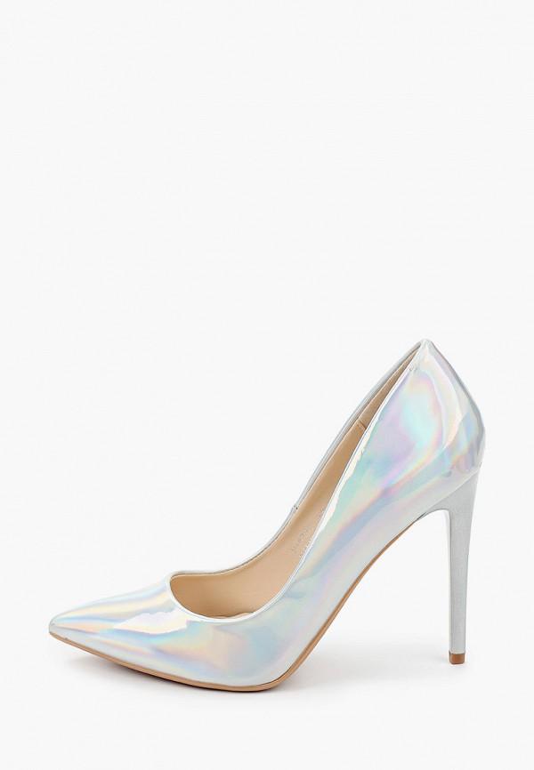 женские туфли marquiiz, серебряные