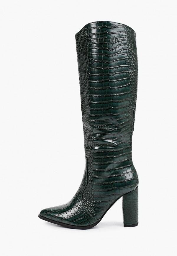 женские сапоги marquiiz, зеленые