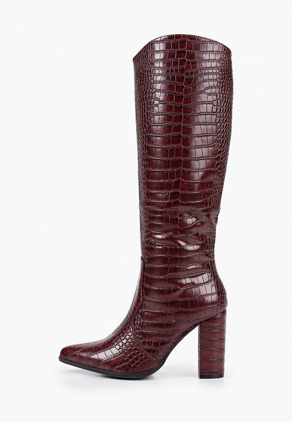 женские сапоги marquiiz, бордовые