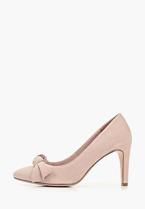 женские туфли marcel ostertag by tamaris, розовые