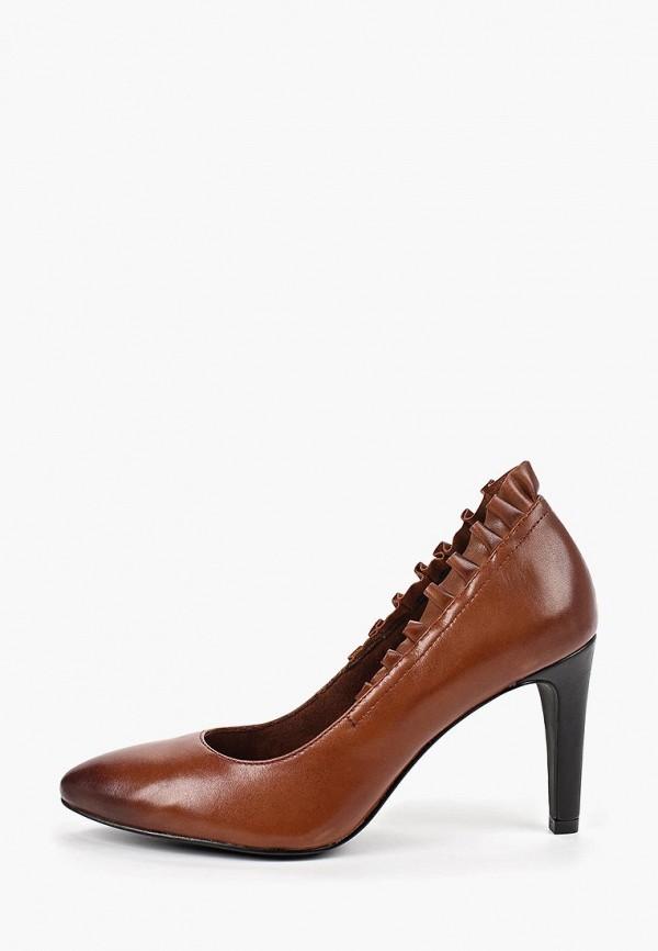 женские туфли marcel ostertag by tamaris, коричневые
