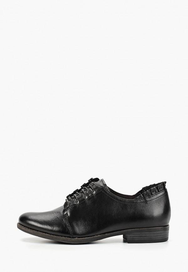 женские ботинки marcel ostertag by tamaris, черные