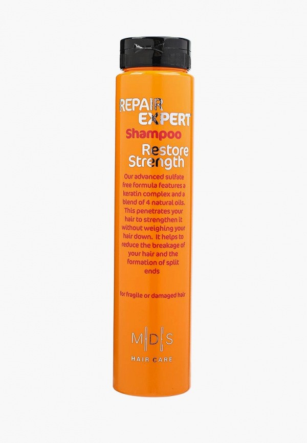 Купить Шампунь Mades Cosmetics, Restore Strength безсульфатный для поврежденных волос восстанавливающий с кератином, 250 мл, ma166lwvir54, Осень-зима 2018/2019