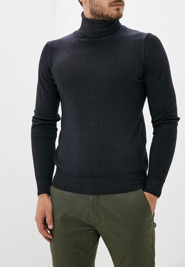 мужская водолазка malagrida, черная
