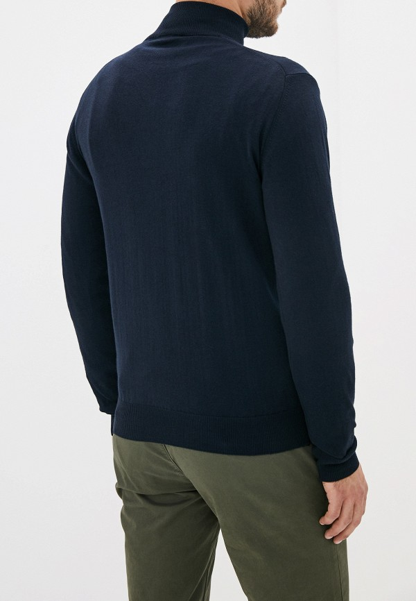 Фото 3 - мужское джемпер Malagrida синего цвета