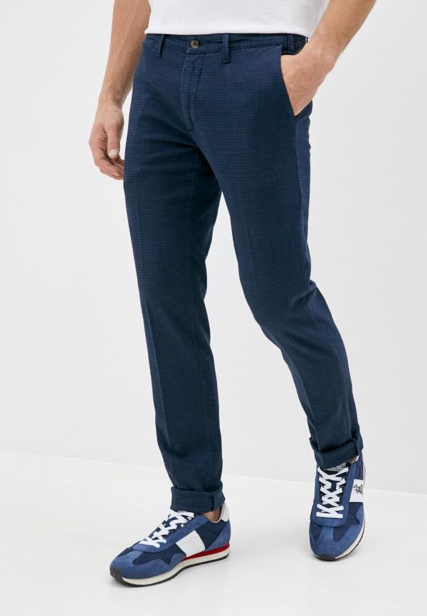 мужские зауженные брюки malagrida, синие