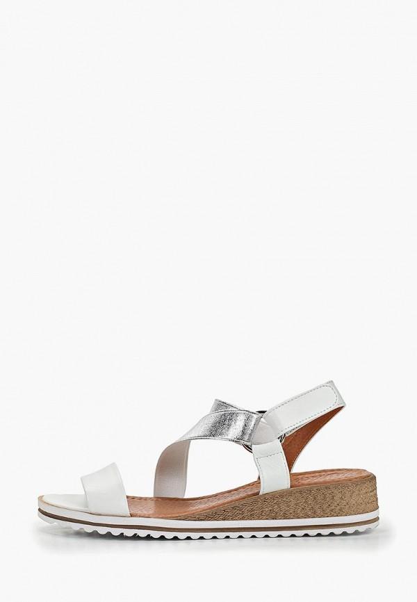женские сандалии mastille, белые