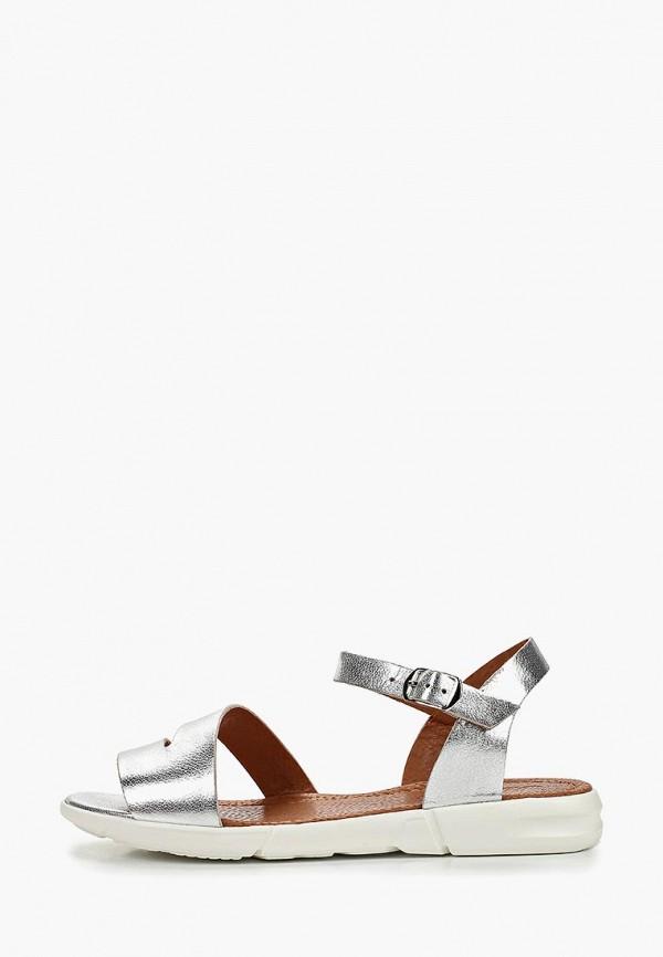 женские сандалии mastille, серебряные