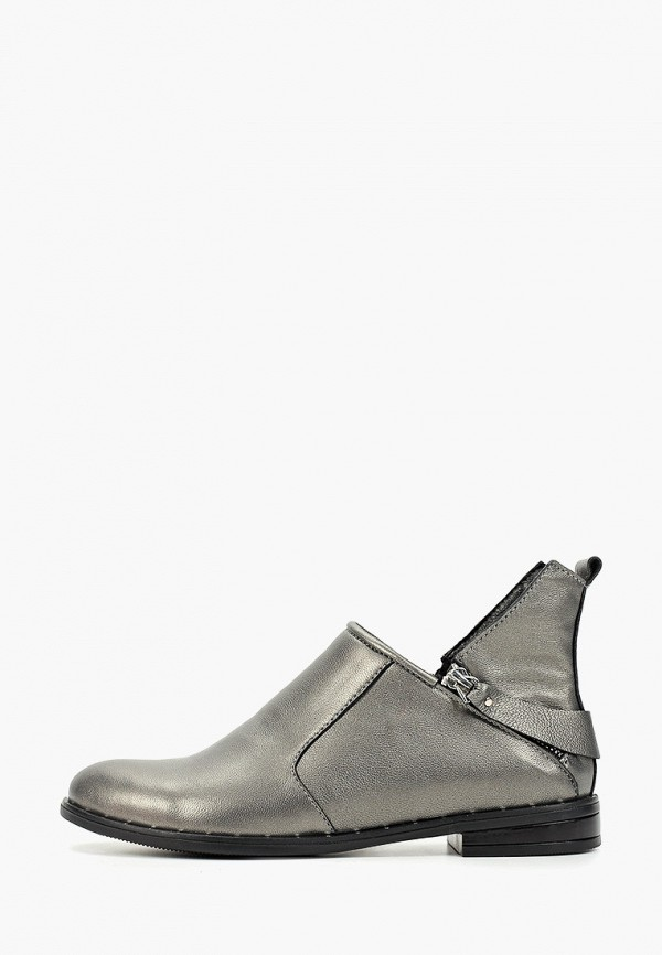 женские ботинки mastille, серебряные