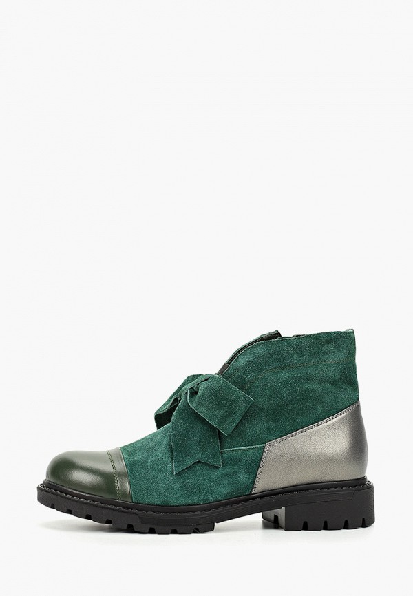 женские ботинки mastille, зеленые